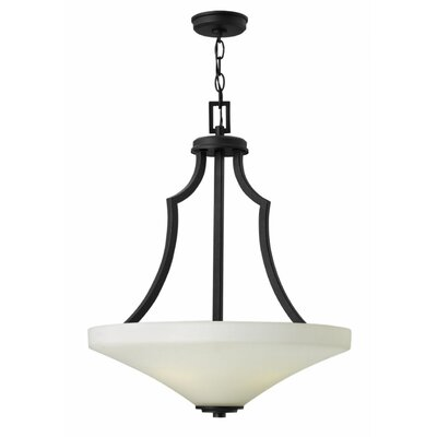 Spencer 4-Light Pendant Finish: Textured Black