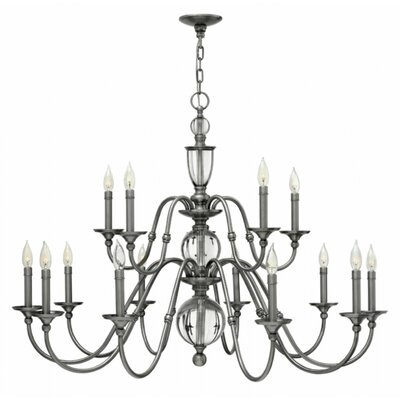 Eleanor 15-Light Candle-Style Chandelier