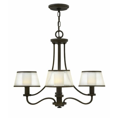 Prescott 4-Light Shaded Chandelier