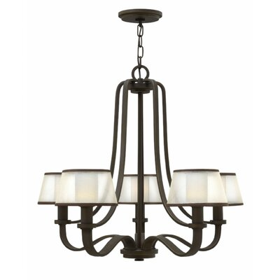 Prescott 5-Light Shaded Chandelier