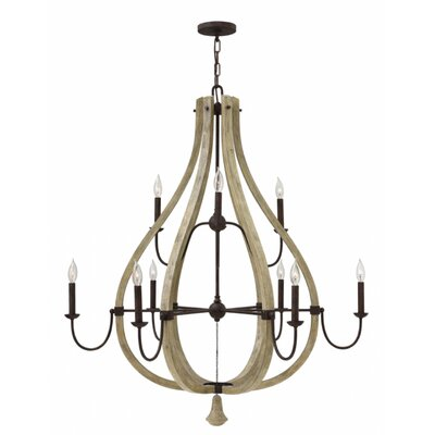 Oceane 9-Light Candle-Style Chandelier