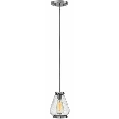 Finley 1-Light Mini Pendant Finish: Chrome