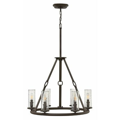 Dakota 6-Light Candle-Style Chandelier