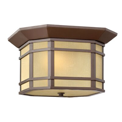 Chianna 2-Light Flush Mount Finish: Oil Rubbed Bronze