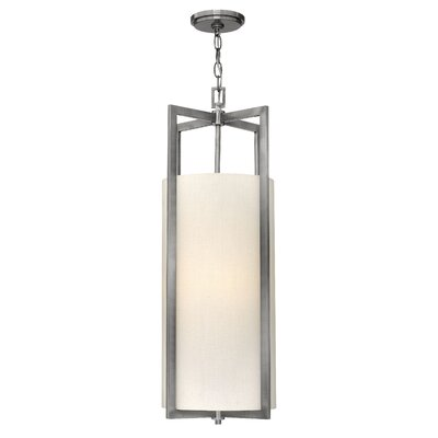 Hampton 2-Light LED Drum Pendant Finish: Antique Nickel