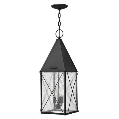 York 3-Light Outdoor Hanging Lantern