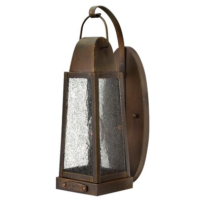 Sedgwick 1-Light Outdoor Wall Lantern