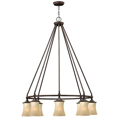 Thistledown 8-Light Shaded Chandelier