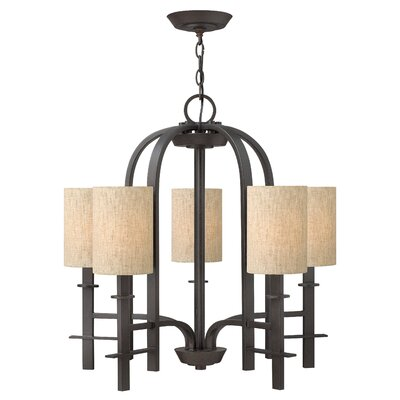 Sloan 5-Light Shaded Chandelier