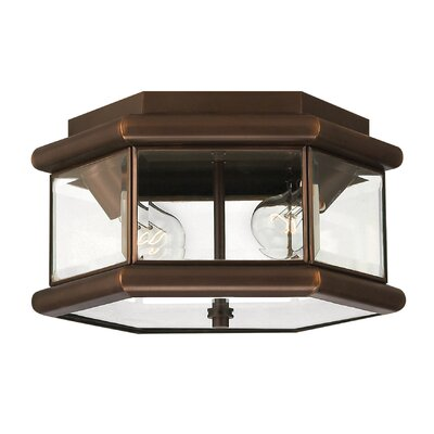 Clifton Park 2-Light Flush Mount