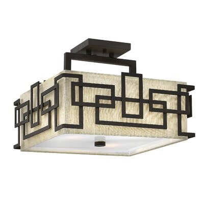 Lanza 3-Light Semi Flush Mount