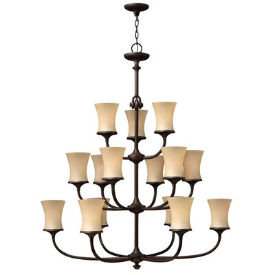 Mayflower 15-Light Candle-Style Chandelier