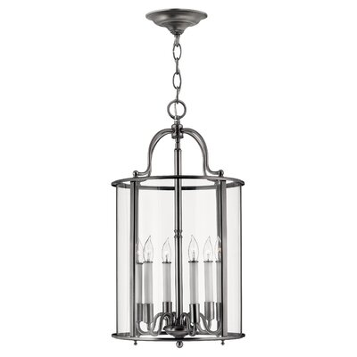 Robles 6-Light Foyer Pendant Finish: Polished Nickel