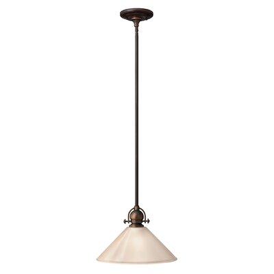 Mayflower 1 Light Mini Pendant 4151OB-LED