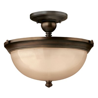 Mayflower 3-Light Semi Flush Mount