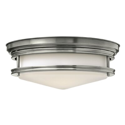 Byford 3-Light Flush Mount Finish: Antique Nickel