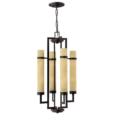 Cordillera 8-Light Shaded Chandelier