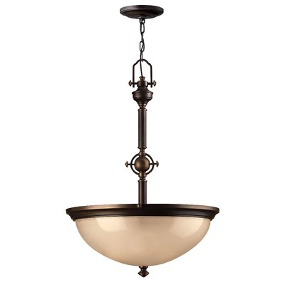 Mayflower 3-Light Bowl Pendant