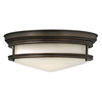 Byford 3-Light Flush Mount Finish: Oil Rubbed Bronze
