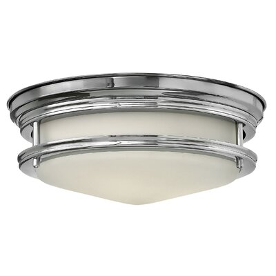 Hadley 2-Light Flush Mount Finish: Chrome