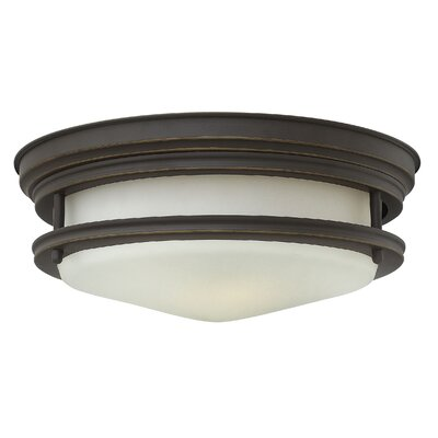 Hadley 2-Light Flush Mount Finish: Oil Rubbed Bronze