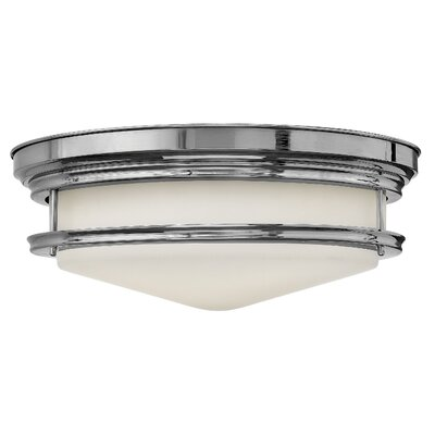 Byford 4-Light Foyer Flush Mount Finish: Chrome, Bulb Type: Incandescent