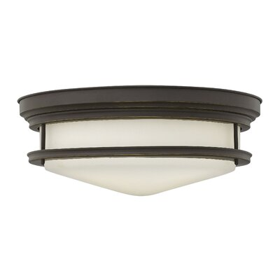 Byford 4-Light Flush Mount Finish: Oil Rubbed Bronze