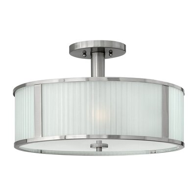 Arnera 3-Light Semi Flush Mount