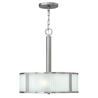 Arnera 3-Light Drum Pendant