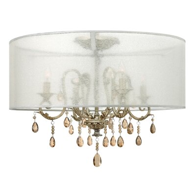 Carlton 4-Light Semi Flush Mount