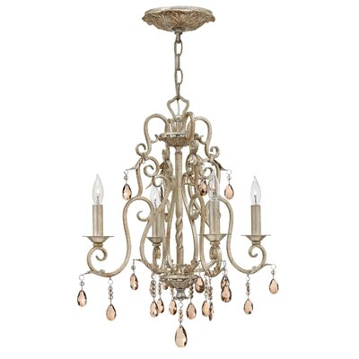 Carlton 4-Light Candle-Style Chandelier