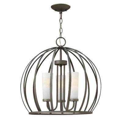 Renata 3-Light Foyer Pendant