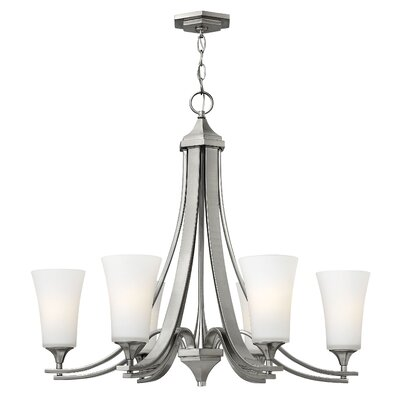 Brantley 6-Light Shaded Chandelier