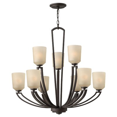 Parker 9-Light Shaded Chandelier