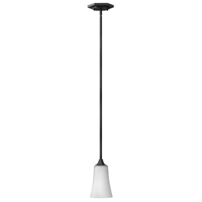 Brantley 1-Light Mini Pendant Finish: Textured Black