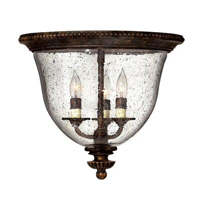 Claypoole 3-Light Flush Mount