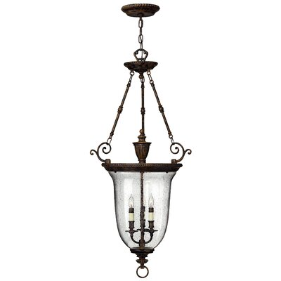 Claypoole 3-Light Foyer Pendant