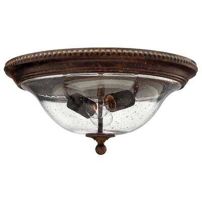 Claypoole 2-Light Flush Mount