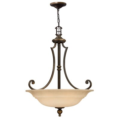 Plymouth 3-Light Inverted Pendant
