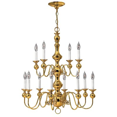 Ardmore 12-Light Candle-Style Chandelier
