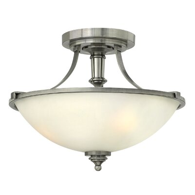 Truman 1-Light Semi Flush Mount