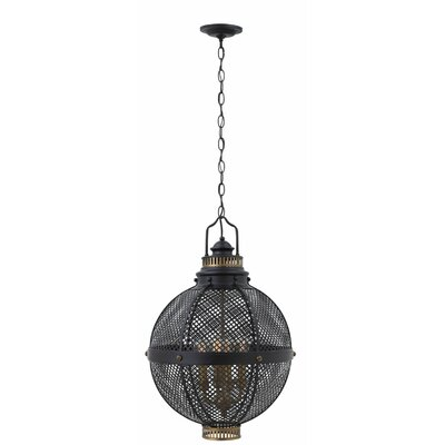 Miramar 4-Light Globe Pendant