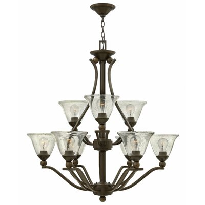 Bolla 9-Light Shaded Chandelier