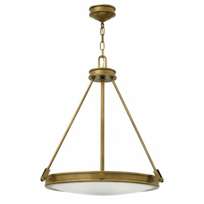 Driden 4-Light Pendant Finish: Heritage Brass