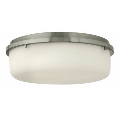 Turner 3-Light Flush Mount Finish: Brushed Nickel
