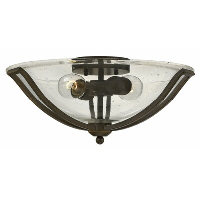 Bolla 2-Light Flush Mount