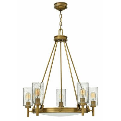 Collier 5-Light Candle-Style Chandelier