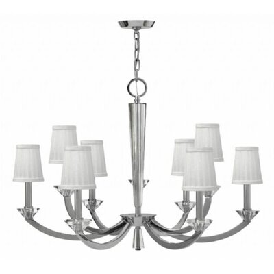 Hendrick 9-Light Shaded Chandelier