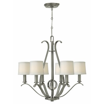 Clara 6-Light Shaded Chandelier