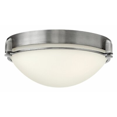 Logan 3-Light Flush Mount Finish: Chrome